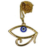 Talismã Colar Olho Grego - Dourado mod.3
