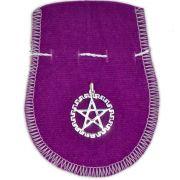 Talismã Wicca  Pentagrama Pitágoras - Amuleto de Proteção Banhado a Prata