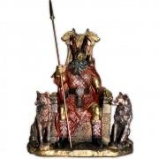 Deus Odin no Trono - Colorida