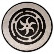 Pantáculo 15cm prata - Roda de Hécate ou Strophalos