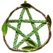 Pentagrama de Porta - Verde