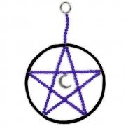 Pentagrama - Roxo e Preto