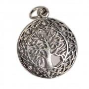 Pingente (Prata 950) - Árvore da Vida 2,5cm