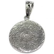 Pingente de Prata de Lei (prata 950) - Mandala Solar