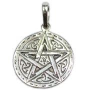Pingente de Prata de Lei (prata 950) - Pentagrama mod. 13