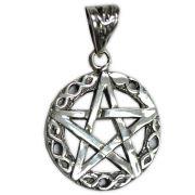Pingente de Prata de Lei (prata 950) - Pentagrama mod.4