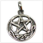 Pingente de Prata de Lei (prata 950) - Pentagrama mod.2