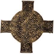 Placa Cruz Celta