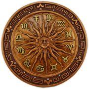 Placa Sol - Bronze