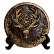 Plaquinha para Altar Deus - dourado