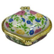Potinho de cerâmica para Unguento - Losango