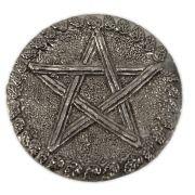 Prato de Altar - Pentagrama Folhas de Carvalho