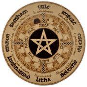 Roda do Ano 35cm - Pentagrama