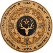 Roda do Ano 25cm - Deus Cornífero