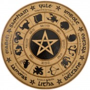 Roda do Ano 25cm mod. 2 - Pentagrama