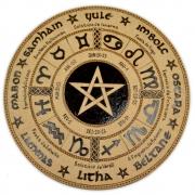 Roda do Ano 25cm mod. 3 - Pentagrama