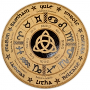 Roda do Ano 25cm mod. 3 - Triquetra