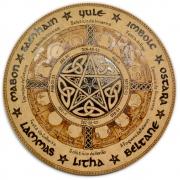 Roda do Ano 25cm - Pentagrama mod. 4