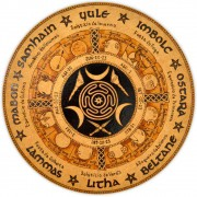 Roda do Ano 25cm - Roda de Hécate