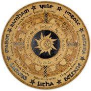 Roda do Ano 25cm - Sol e Lua