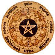 Roda do Ano 25cm - Pentagrama (5)