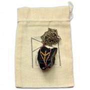 Talismã Amuleto Rúnico Algiz - Proteção