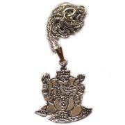 Talismã Ganesha - Prateado