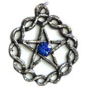 Talismã Pentagrama - Céltico Grande Swarovski