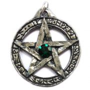 Talismã Pentagrama - Lei Wicca Swarovski