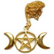 Talismã Triluna - Dourado