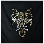 Toalha de Altar - Dragão Dourado