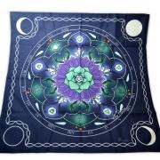 Toalha de Veludo Mandala para Altar mod. 2