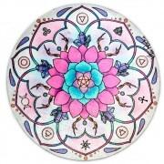 Toalha Emborrachada para Altar Mandala mod. 12