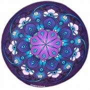 Toalha Emborrachada para Altar Mandala mod. 6