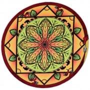 Toalha Emborrachada para Altar Mandala mod. 9