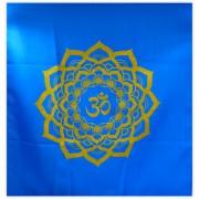 Toalha Mandala OM - Azul