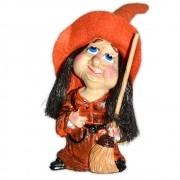 Ursula, a Bruxinha da Sabedoria - Laranja