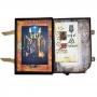 Book Of Shadows Encadernação Medieval 400pg. sem pauta - Bruxa com Corvo