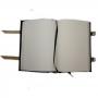 Book Of Shadows Encadernação Medieval 400pg. sem pauta - Pentagrama mod. 2