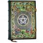 Book Of Shadows Encadernação Medieval 400pg. sem pauta - Pentagrama mod. 1