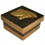 Caixa Egípcia Pequena Preta - Olho de Hórus