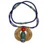 Talismã Colar Egípcio Escaravelho - de Resina mod. 2