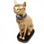 Deusa Bastet - Gato Dourado (M)