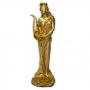 Deusa Fortuna - Pequena Dourada