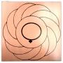 Gráfico de Cobre - Turbilhão com Vênus