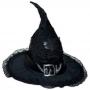 Chapéu de Bruxa - Preto (mod 13)
