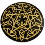 Pentáculo nó celta dourado M 15 CM