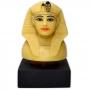 Réplica Museu Egípcio - Tampa de Canopo de Tutankhamon