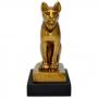 Réplica Museu Egípcio - Deusa Bastet Mini