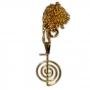 Talismã Colar Cho-Ku-Rei (Reiki) - Dourado Pequeno